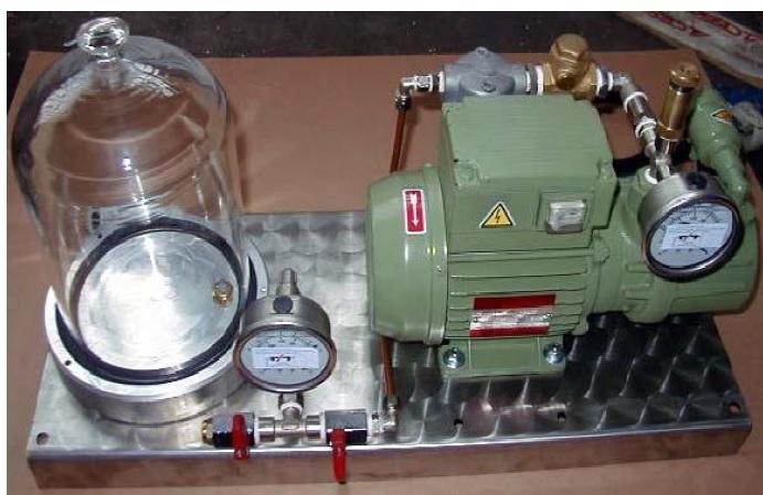 Máy Test tỷ lệ H2 trong kim loại - Gas Detector 2006